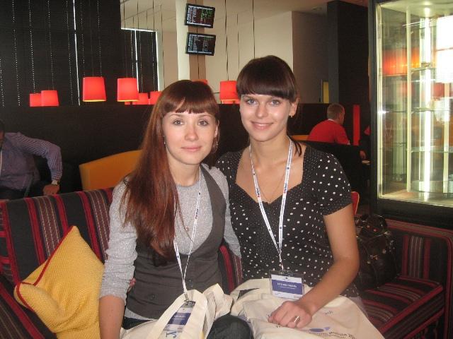 Юлия Альгина и Евгения Солдатова