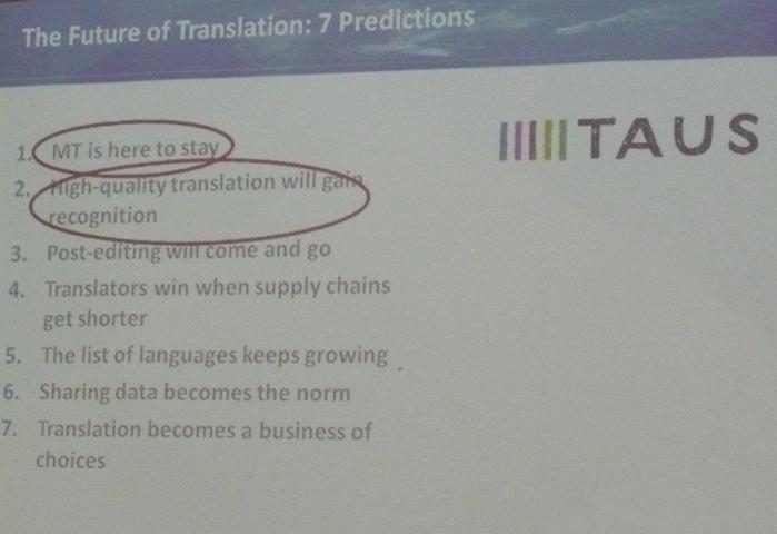 Будущее переводческой отрасли