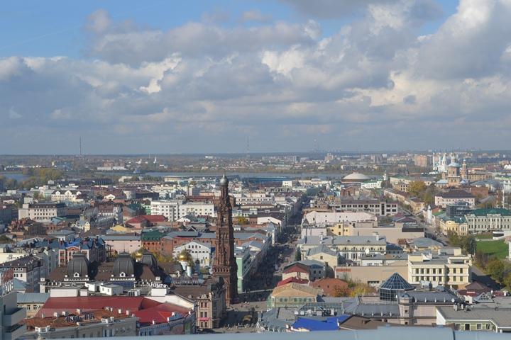 Вид с крыши Гранд Отеля
