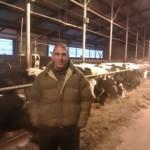 """Рои, успешный фермер из Израиля, на кировском агрокомбинате """"Красногорский"""""""
